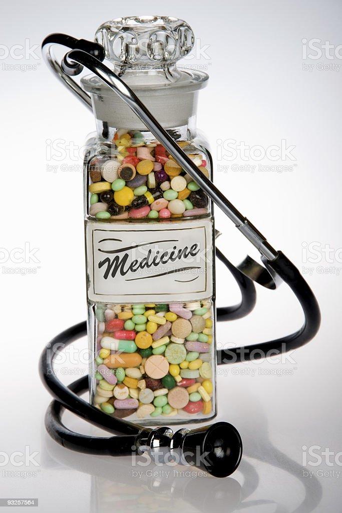 Retro Medicine royalty-free stock photo