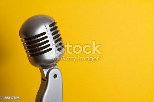 istock Retro Microphone 183317598