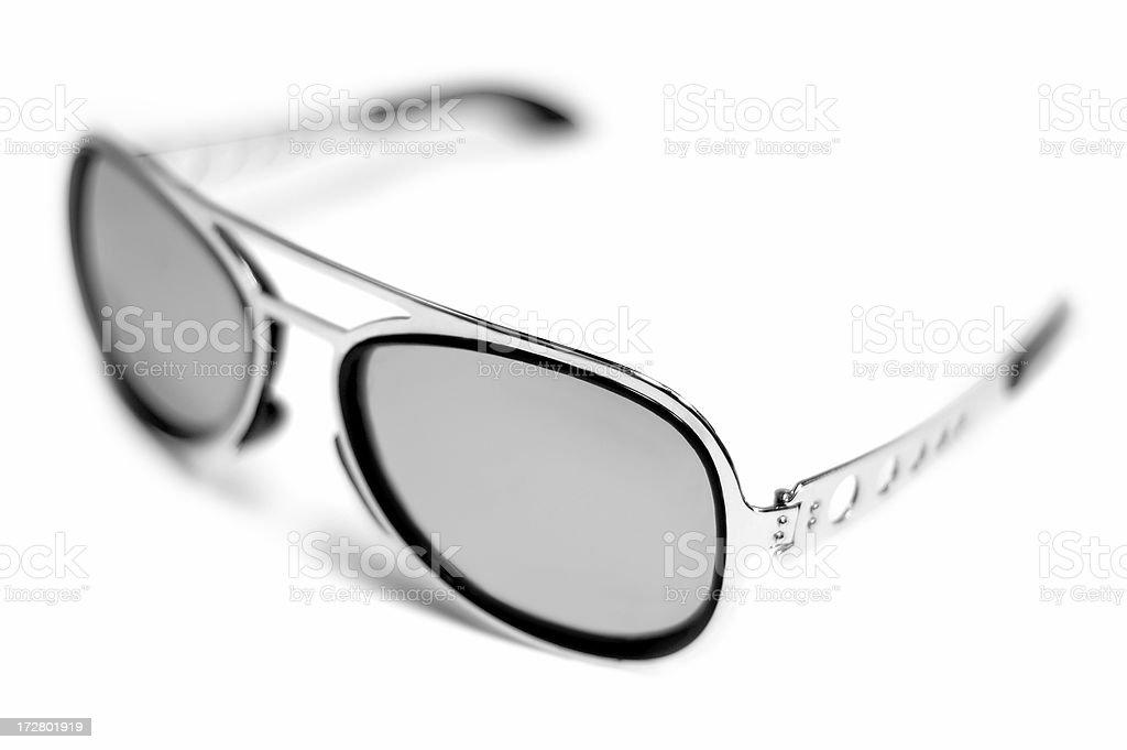 Retro Mirror Glasses royalty-free stock photo