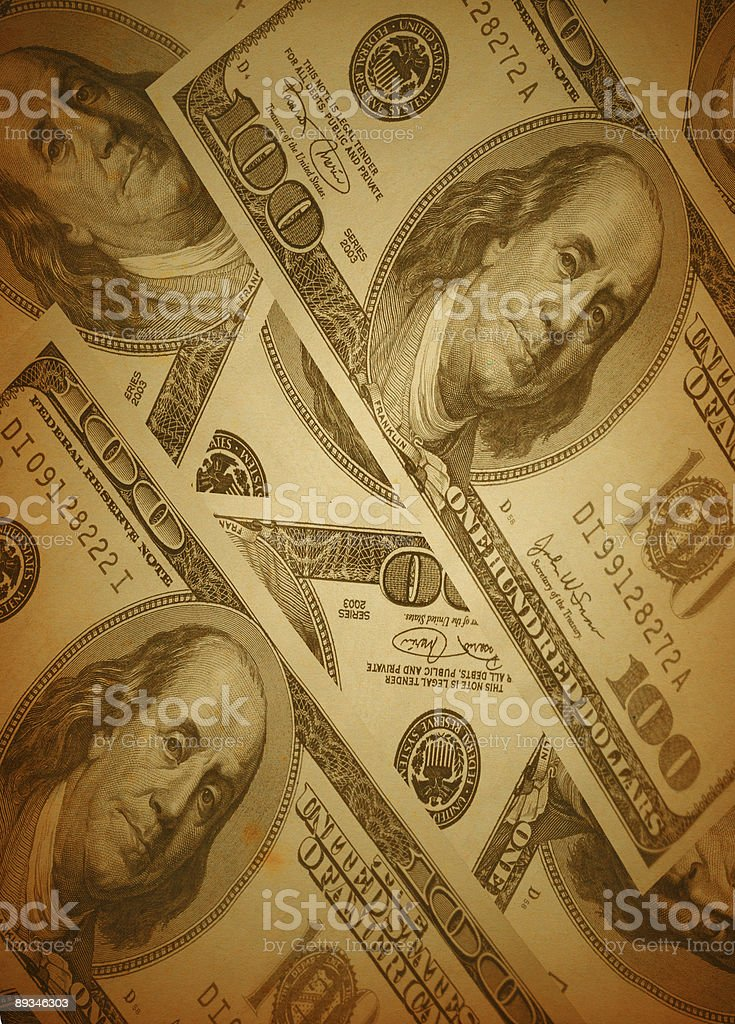 retro money background stock photo