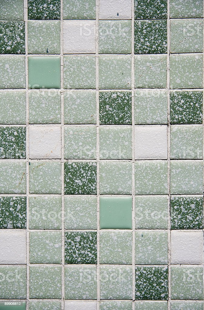 Ретро мозаичной плиткой Стоковые фото Стоковая фотография