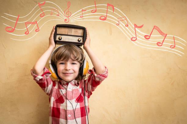 Conceito de música retrô - foto de acervo
