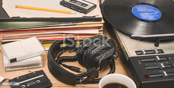 istock retro music header background 690457796