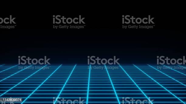 Retro neon simple grid in the dark space flat surface 3d render picture id1143839374?b=1&k=6&m=1143839374&s=612x612&h=dtjcta0gqj98ia934heqj0n9urzh3xvznpx9p46bjhi=