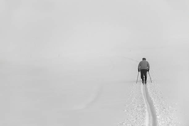 Retro, Ski Nordisch – Foto