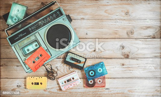 istock Retro object teachnology 689527438