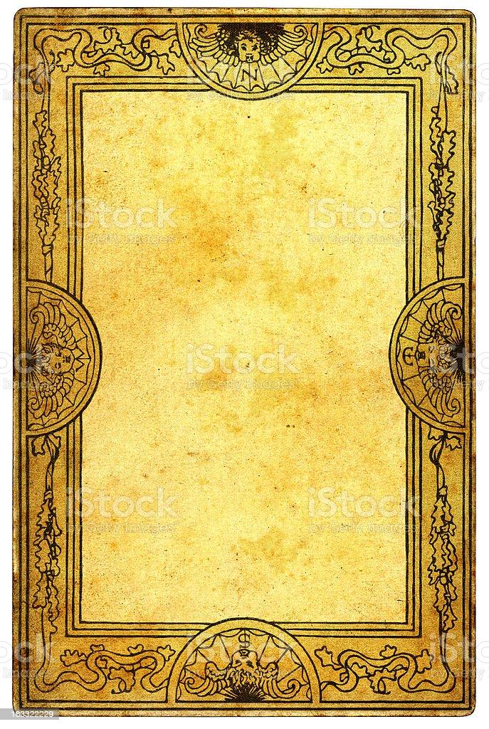 Retro Ornate Border Pattern stock photo