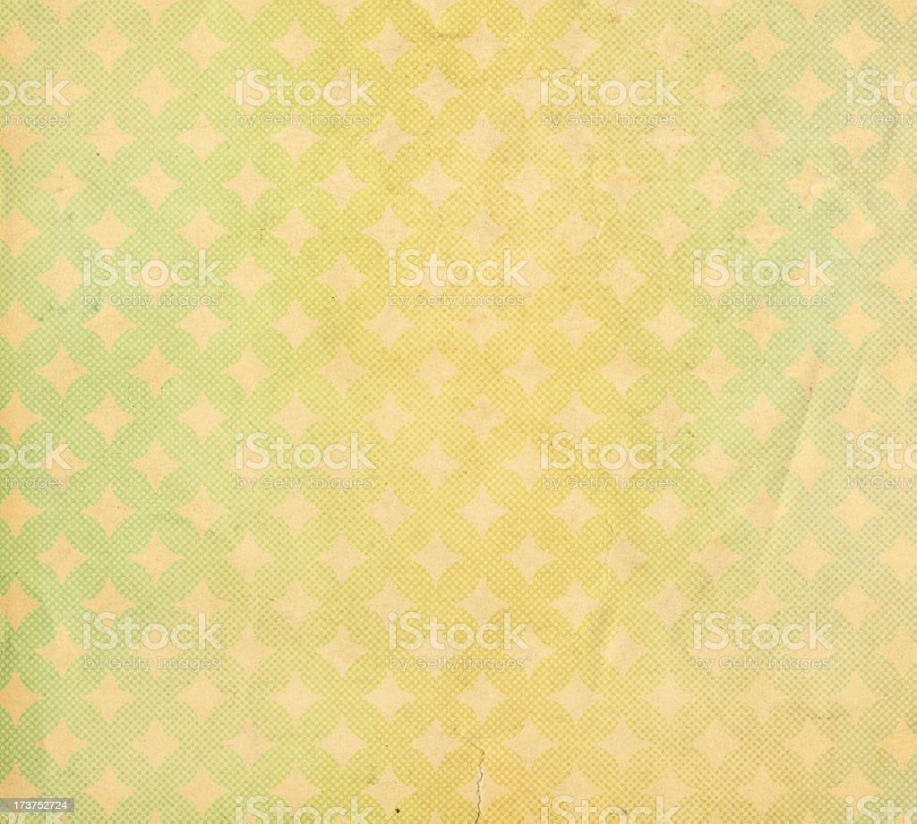 retro paper with halftone pattern stock photo