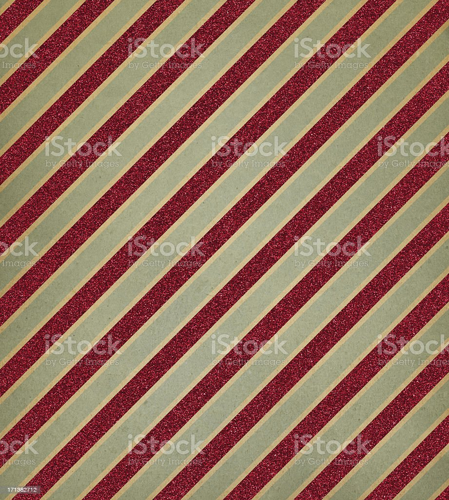 retro paper with red glitter stripe royalty-free stock photo