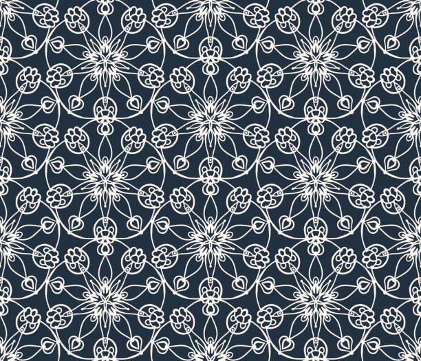 motif rétro - damas en matière textile photos et images de collection