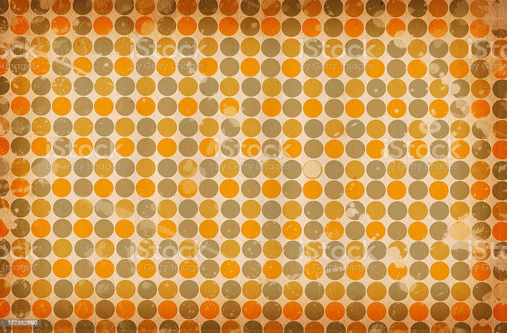 Retro Patterned Paper XXL royalty-free stock photo