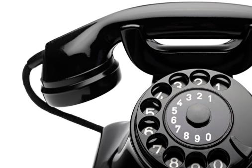 Retro Phone 1 Stock Photo - Download Image Now