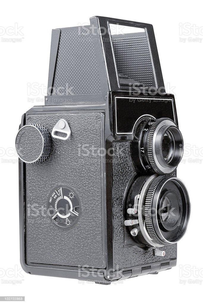 retro photo camera stock photo
