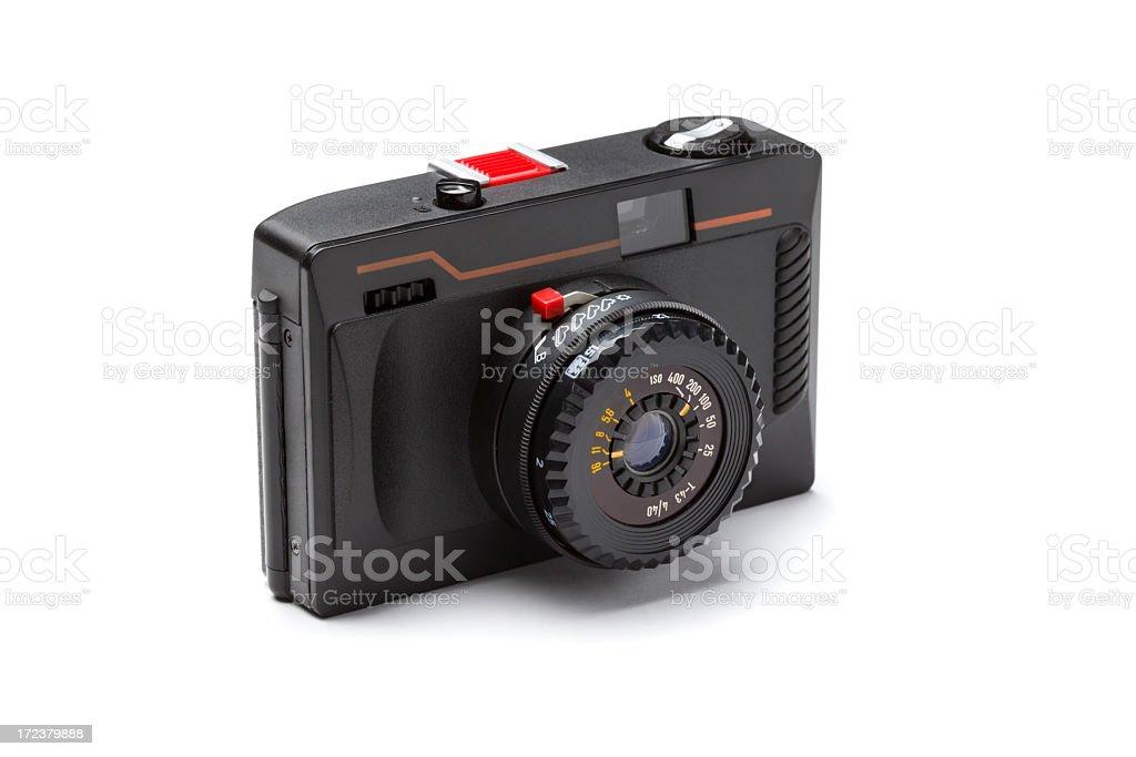 Retro photo camera royalty-free stock photo