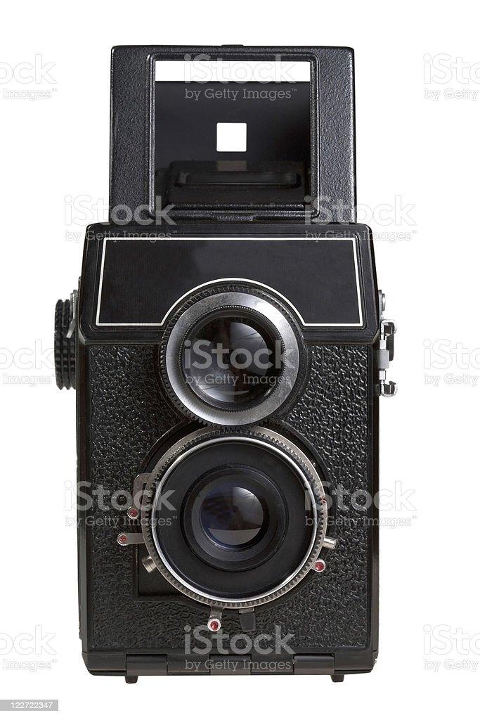 retro photocamera stock photo