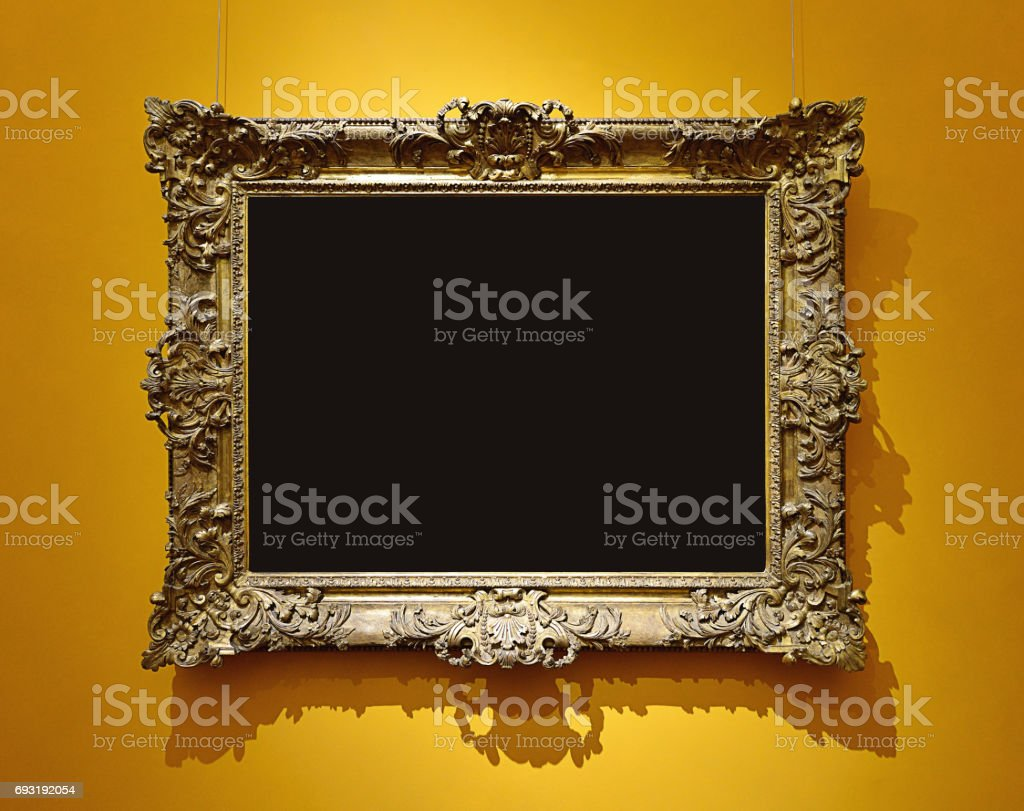 Retro Picture Frame stock photo