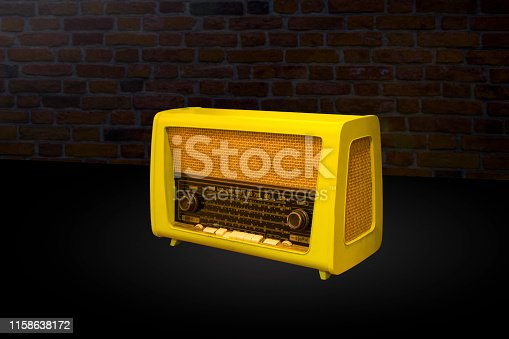 Retro portable radio