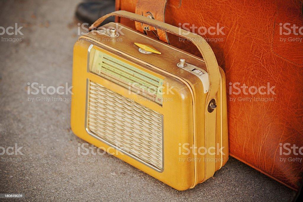 Retro radio royalty-free stock photo