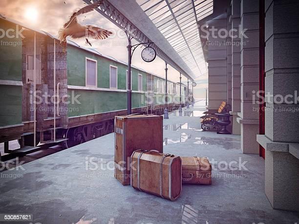 Retro railway train station picture id530857621?b=1&k=6&m=530857621&s=612x612&h=3te9sifpbjsfz 6nisdletl6i3ovuudvasj5ohababa=