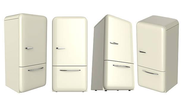 Retro Kühlschrank Günstig : Vintage kühlschrank bilder und stockfotos istock