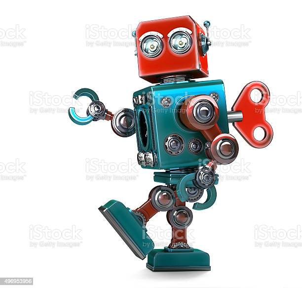 Retro robot wound up with key isolated with clipping path picture id496953956?b=1&k=6&m=496953956&s=612x612&h=4ek7h4xbyuqfvjsg50lx xklsfruvahh84oweuol8yk=