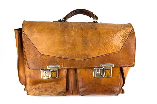 Retro-Schultasche – Foto