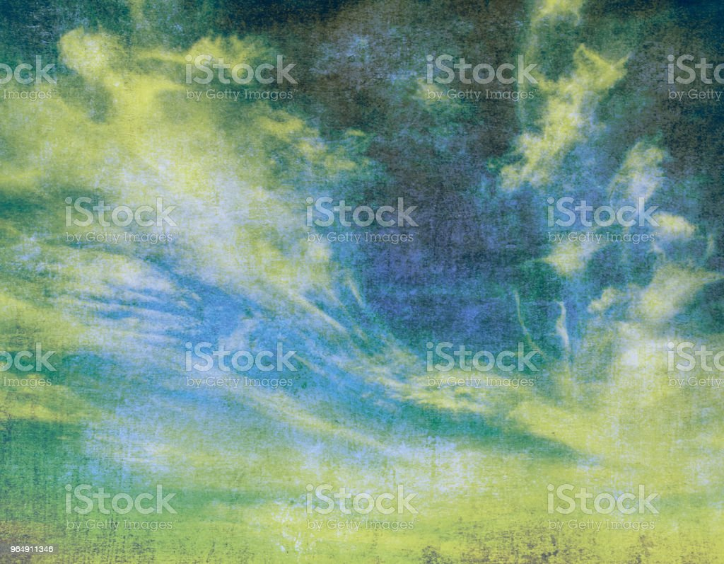 retro sky royalty-free stock photo