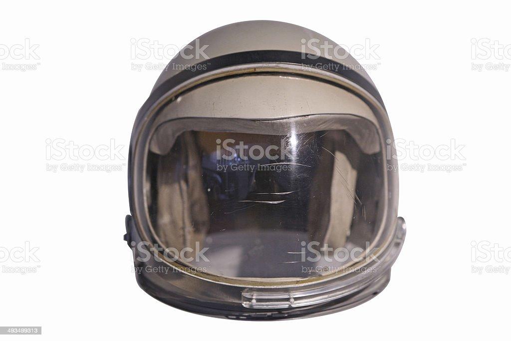Retro Space Helmet stock photo