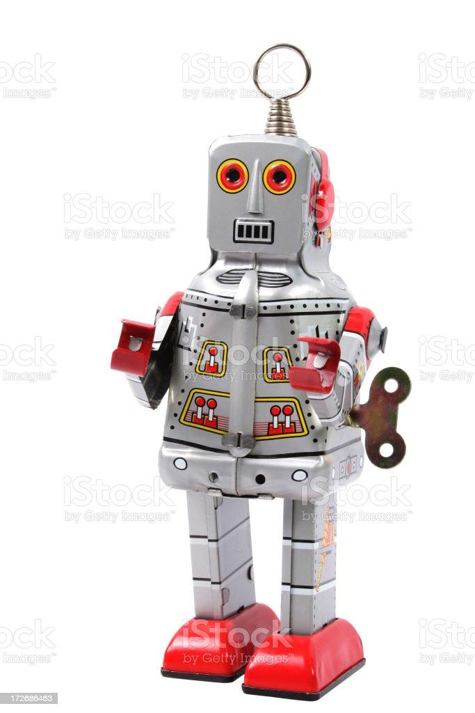 Retro-Raum Roboter – Foto