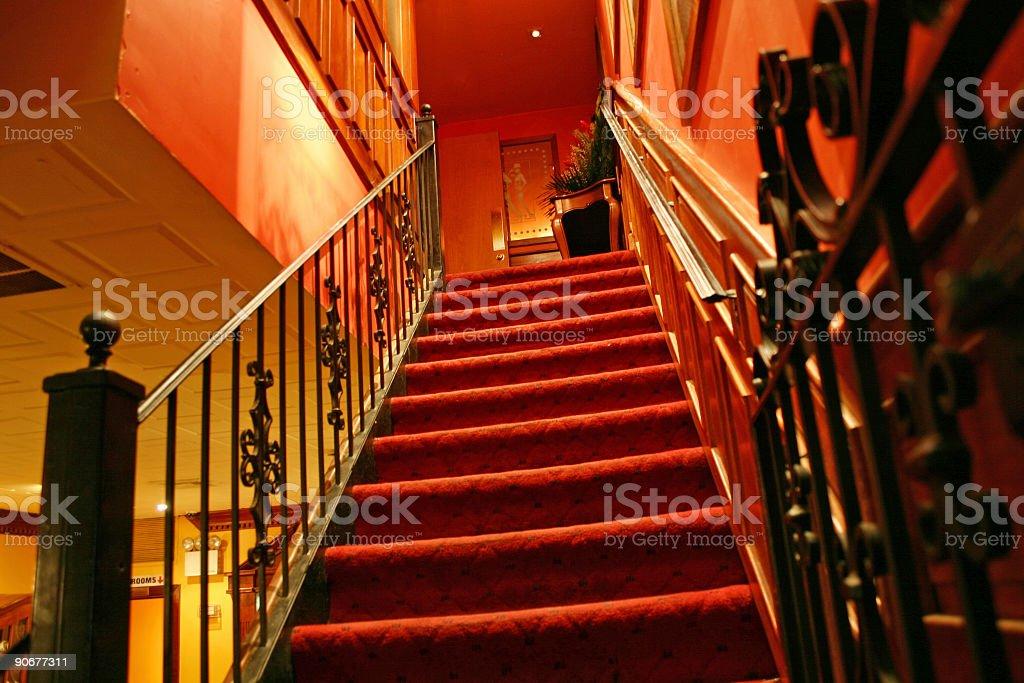Retro Steps royalty-free stock photo