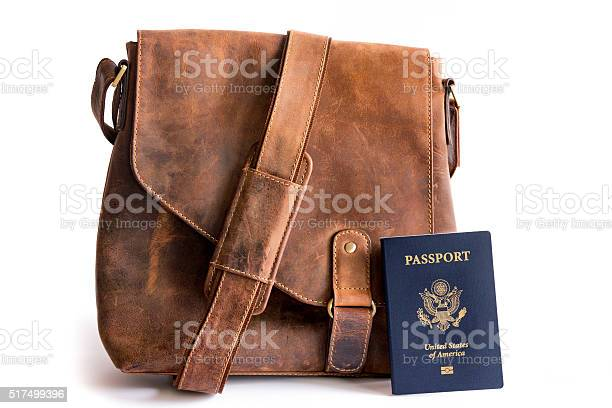 Retro style leather bag with biometric american passport picture id517499396?b=1&k=6&m=517499396&s=612x612&h=ityxrej fxd1trzzj3vfg8lhuqt0uq8xxmgvd7a1khm=