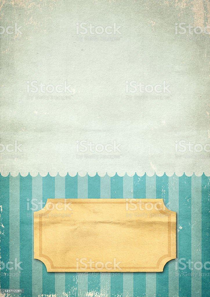 Retro style paper royalty-free stock photo