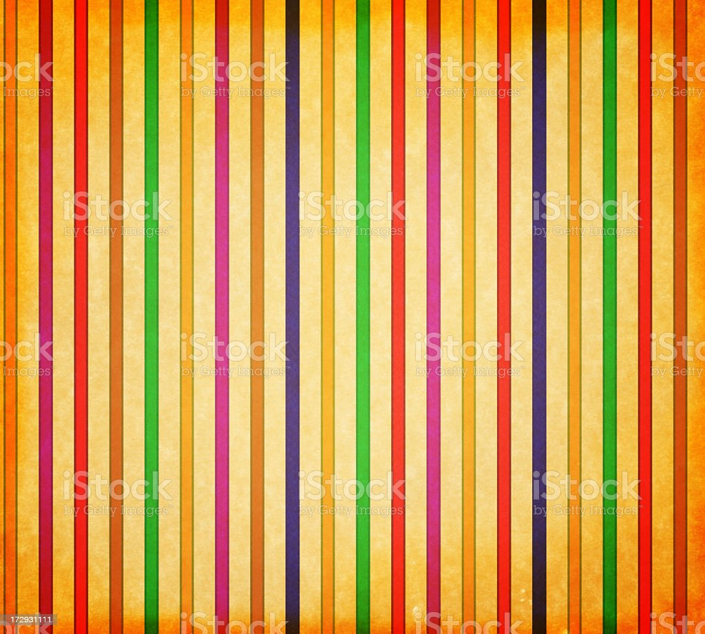 retro style paper with color stripes royalty-free stock photo