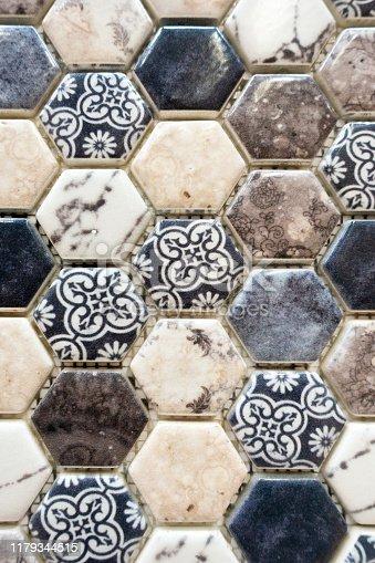 Tile Hexagon Pattern Background