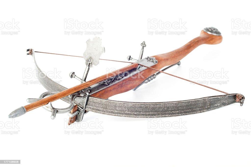 Stylisé crossbow rétro - Photo