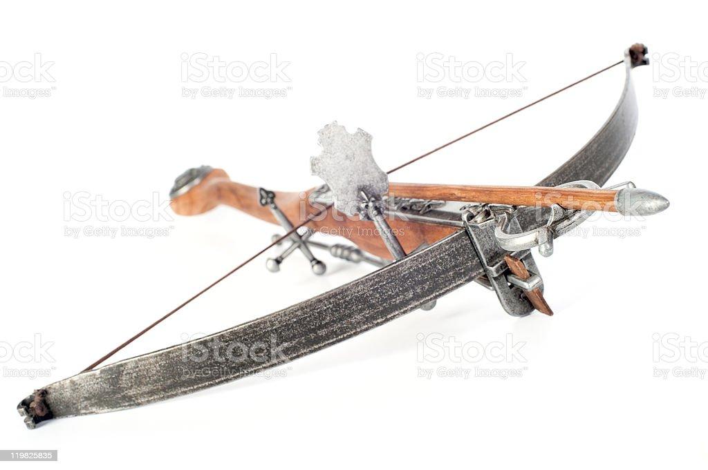 Stylisé crossbow en bois rétro - Photo