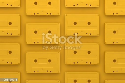 Retro, Vintage, Old, Classic, Tape, Casette, Colorful, Background, Abstract.