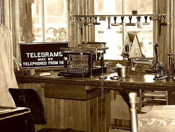 Rétro Telegraph bureau - Photo
