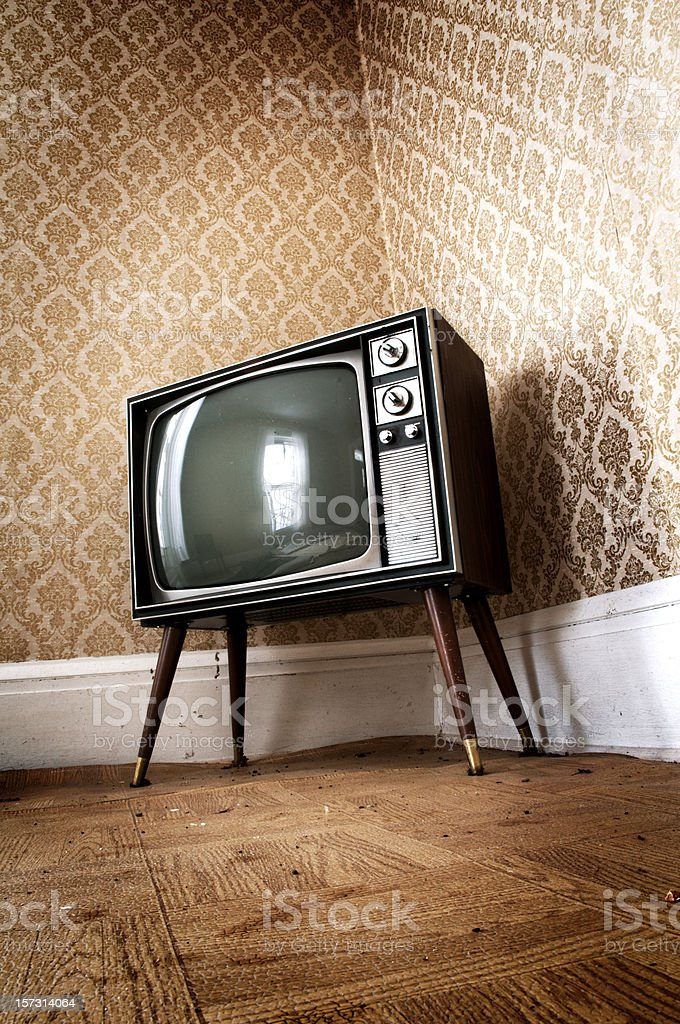 Retro Television royalty-free stock photo