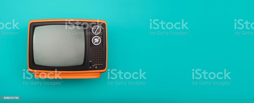 Televisão retrô - foto de acervo