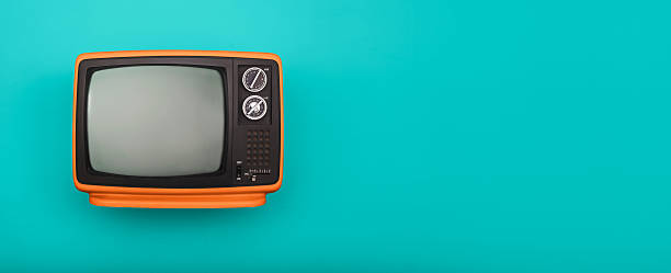retro television - 1980s style stock photos and pictures