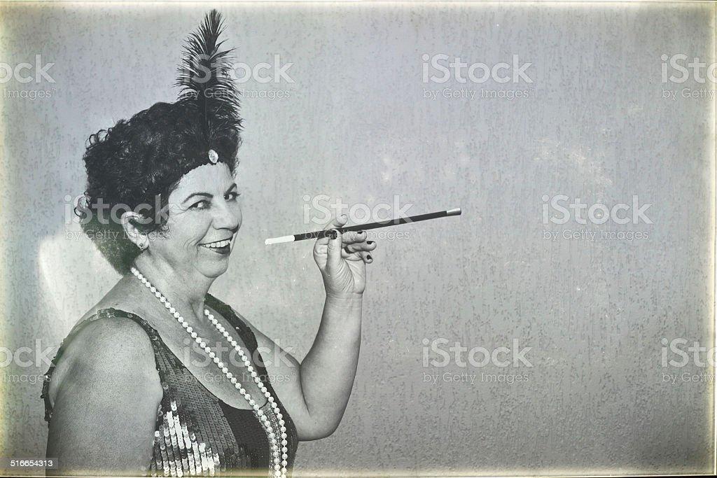 Retro time - CanCan stock photo