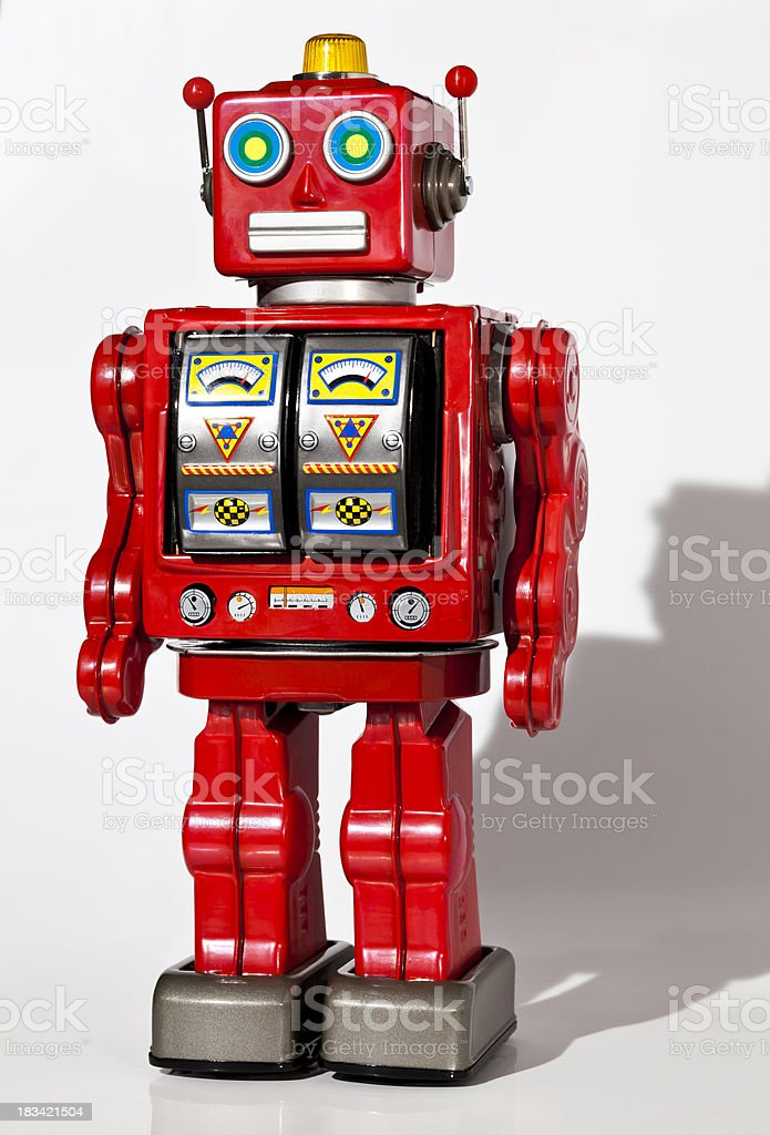 Old fashioned robot toys 82