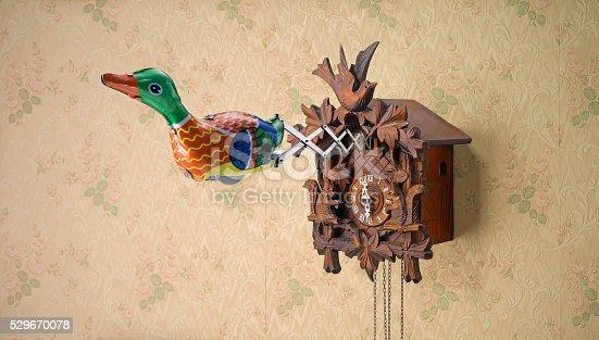 istock Retro Tin Toy Duck 529670078