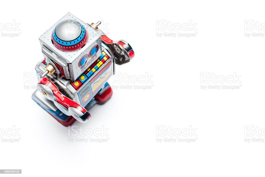 robot jouet vintage tin - Photo