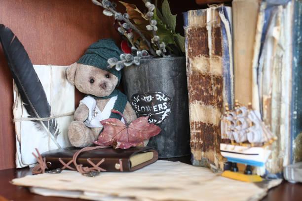 Retro toy bear and old book picture id859753260?b=1&k=6&m=859753260&s=612x612&w=0&h=zkjhuw0b1kyovw86fgqdgszosb1tkm9mynl2vduwguu=