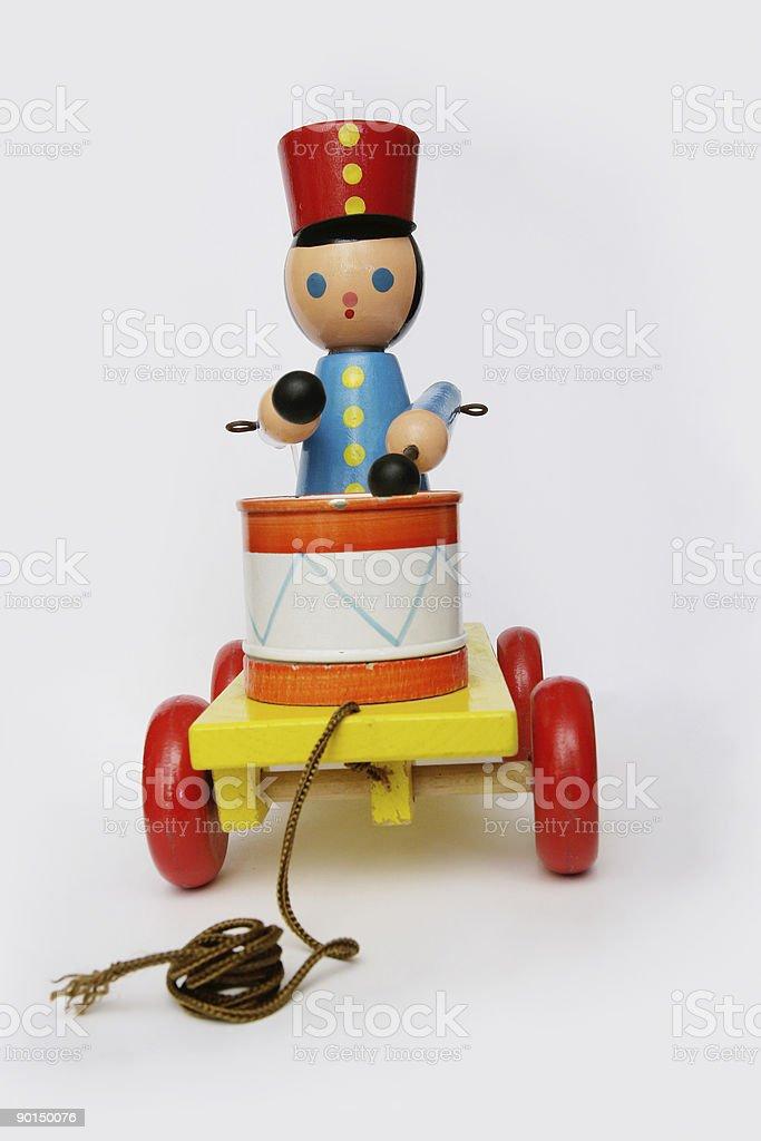 Retro toy stock photo