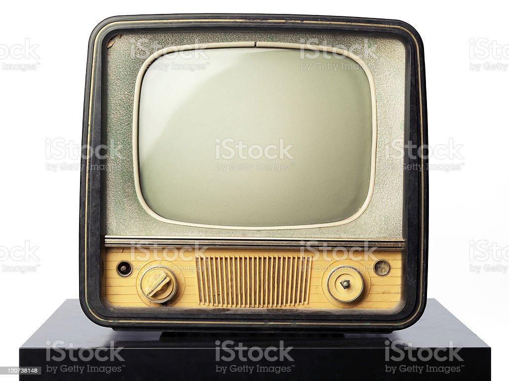 Retro tv royalty-free stock photo