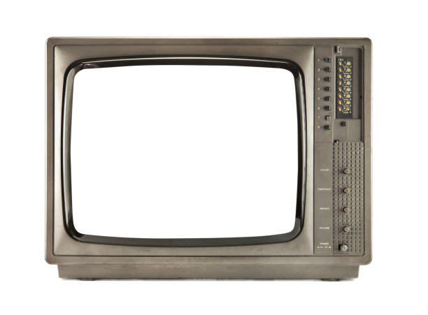 retro tv - the past stock photos and pictures