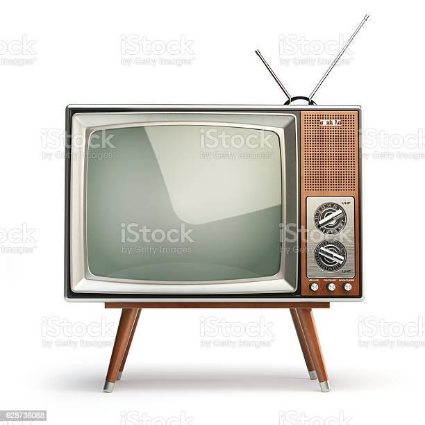 Retro tv set isolated on white background communication media picture id628736088?b=1&k=6&m=628736088&s=612x612&h=t9mngxobat8esp9drac yvektm8j9gaqec39qabnv e=